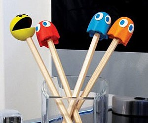 Pac-Man Pencil Top Erasers