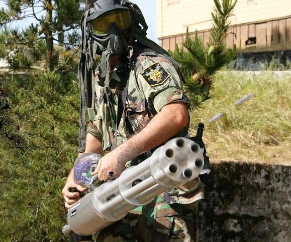 Paintball Minigun