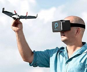FPV Paper Airplane Drone
