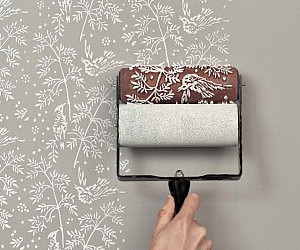 Patterned Paint Roller No.27 from Paint & by patternpaintrollers More