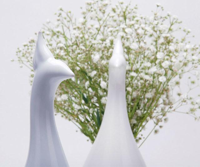 Peacock Flower Vase