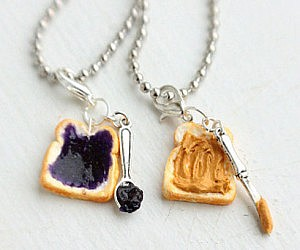 Peanut Butter And Jelly Necklaces