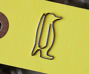 Penguin Shaped Paper Clips