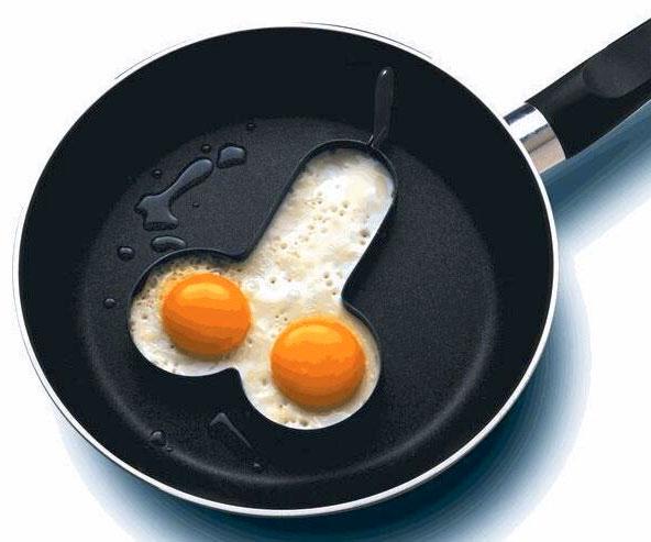 Penis Shaped Egg Mold