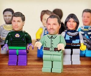 Custom 3D Printed LEGO Heads