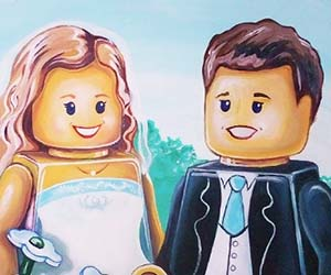 Personalized LEGO Portrait