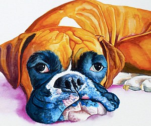 Personalized Watercolor Pet Portraits