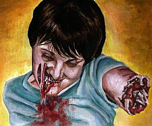 Personalized Zombie Paintings