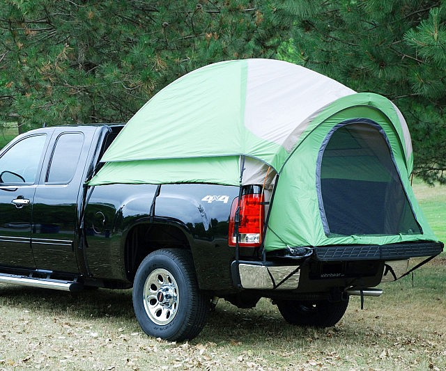 Truck Bed Tent : Pickup truck bed tent