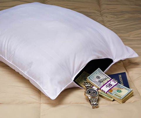 Secret Compartment Pillow Safe