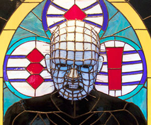 Pinhead 3D Stained Glass