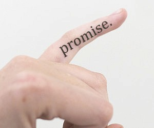 Pinky Promise Temporary Tattoos