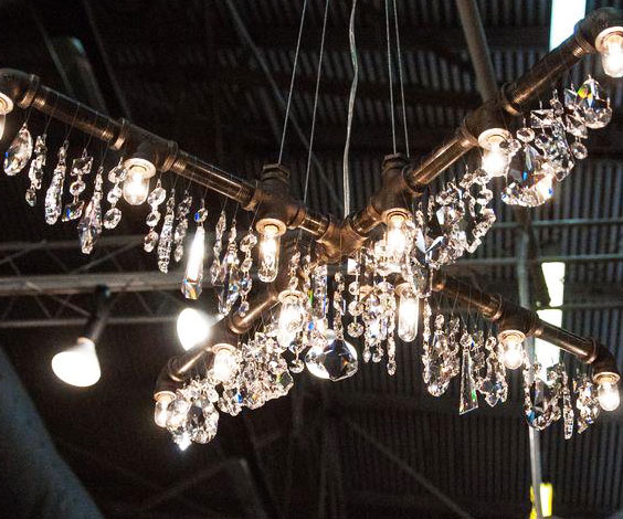 Best Industrial Piping Chandelier