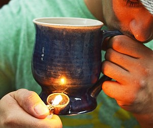 Wake And Bake Coffee Pipe Mug