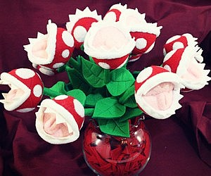 Super Mario Piranha Plant Bouquet