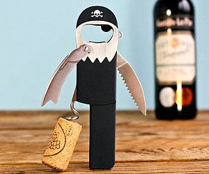 Pirate Peg Leg Corkscrew