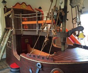 Viking Ship Bed