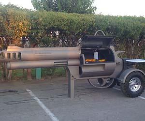 Pistol BBQ Grill