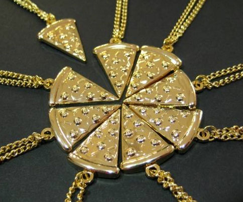Pizza Slice Necklace