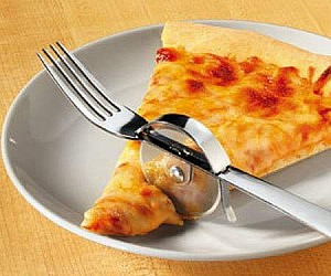 Pizza Slicer Fork