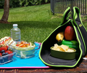 Fold Up Placemat Lunchbox