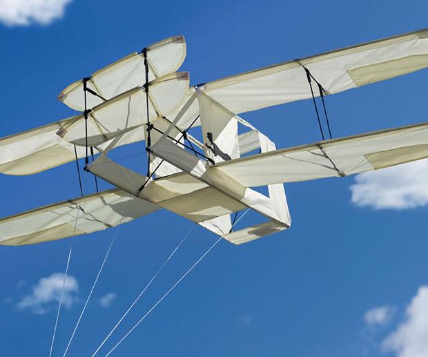 Wright Brothers Plane Kite
