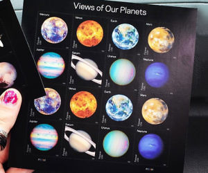 USPS Planetary Stamps