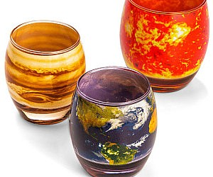 Planetary Glasses