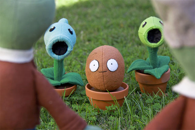 Plants Vs Zombies Plushies