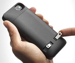 Plug-In iPhone Case
