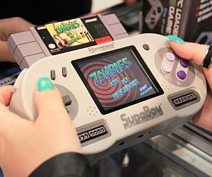 Pocket Super Nintendo Console
