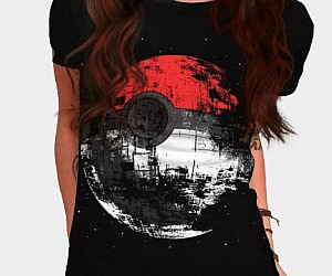Pokeball Death Star Shirt