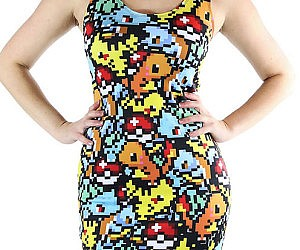 Pixelated Pokemon Dress