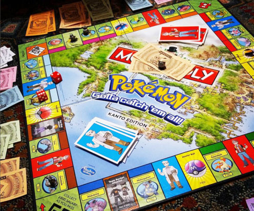 Pokemon Edition Monopoly