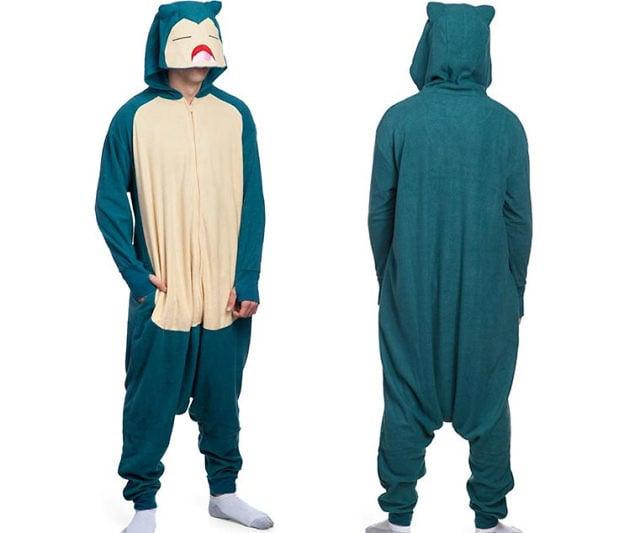 50acdfcbed09 Pokémon Snorlax Onesie