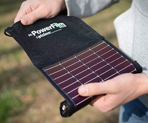 Roll-Up Solar Charger