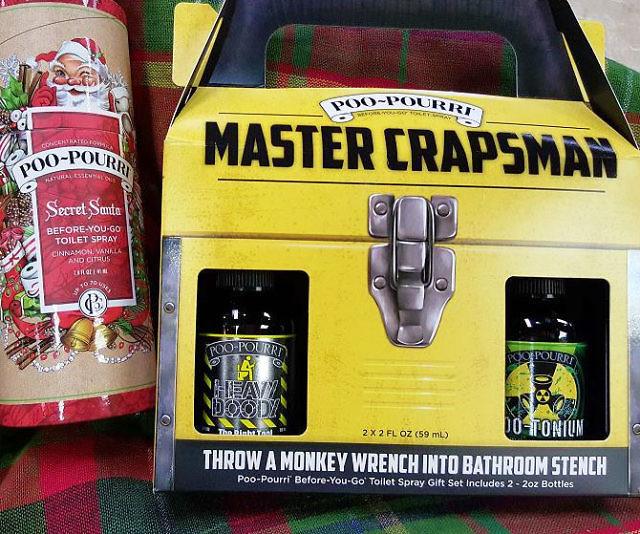 Pourri Master Crapsman Gift Set