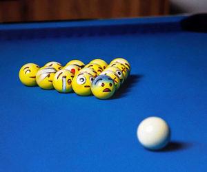 Emoji Billiard Balls