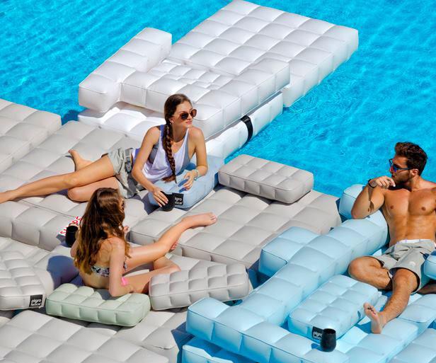 Modular Inflatable Pool/Patio Furniture