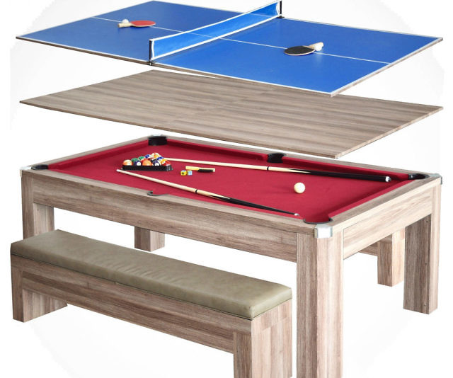 In Picnic Pool Ping Pong Table - Pool table scorekeeper