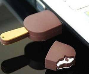Chocolate Popsicle USB Drive