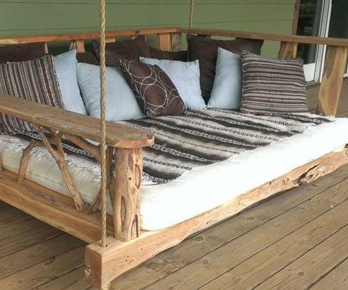 Nice Porch Swing Bed