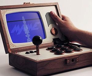 Portable Arcade Console Emulator