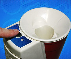 Portable Beer Pong Ball Washer