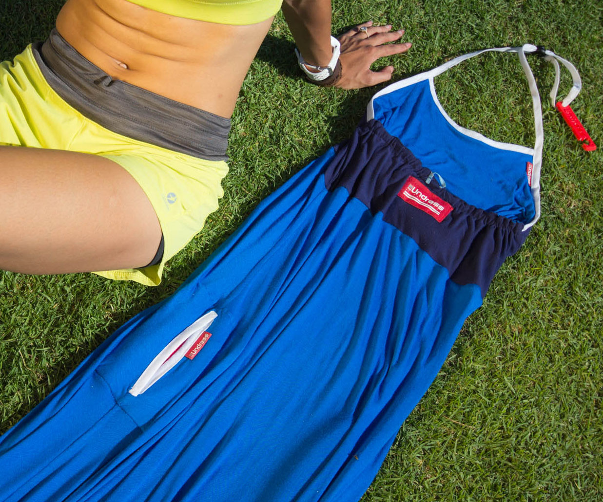 Portable Changing Room Dress