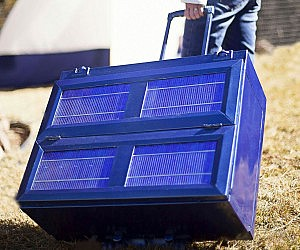 Portable Solar Powered Refrigerator