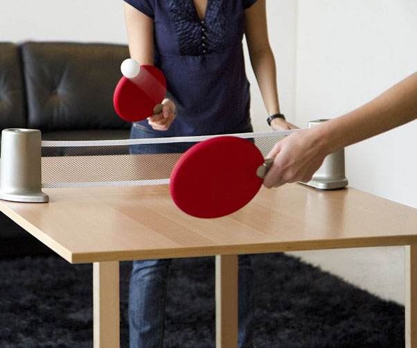 & Portable Ping Pong Set