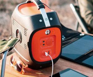 Solar Powered Battery Pack...