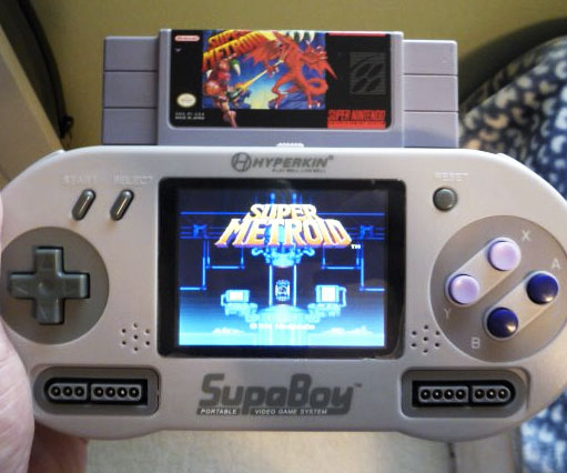 Portable Super Nintendo Player