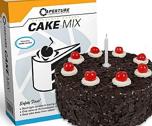Aperture Laboratories Cake...